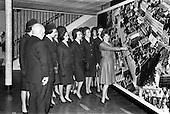 1963 - Aer Lingus Hostesses visit Jacob's Biscuit factory