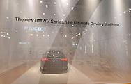 BMW 7 Series display.Media Preview .Melbourne International Motorshow.Melbourne Exhibition Centre.Clarendon St, Southbank, Melbourne .Friday 27th of February 2009.(C) Joel Strickland Photographics.