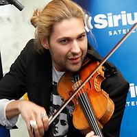 David Garrett performs at the studios of SiriusXM Satellite Radio in New York on June 6, 2012..Photo Credit ; Rahav Iggy Segev / Photopass.com