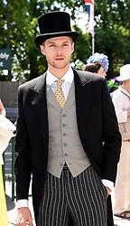 Jim Chapman attends Royal Ascot Ladies Day at Ascot Racecourse, Ascot, Berkshire on Thursday 18 June 2015