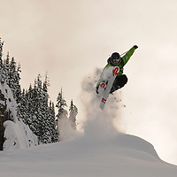 Mica Heli 2010 skier