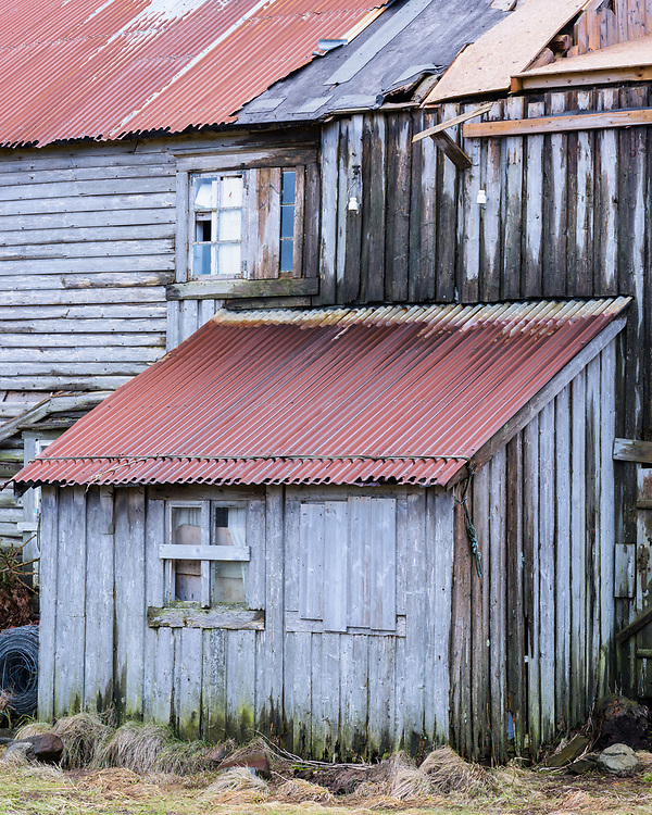 Farm building, Lofoten, Norway