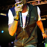 AUSTIN, TX - March 17th: Atlanta rapper B.O.B. performs at the Atlantic Records showcase at La Zona Rosa as part of the 2011 South by Southwest Festival. (Photo by Kyle Gustafson)
