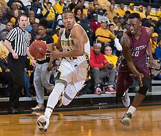 2015-16 A&T Men's Basketball vs NC Central (Senior Night