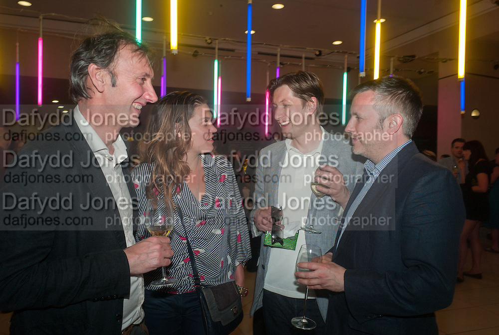 KEITH COVENTRY; HELEN PRITCHARD; PHIL ALLEN; JAKE MILLER, Tate Summer party. Tate Britian, Millbank. London. 28 May 2012