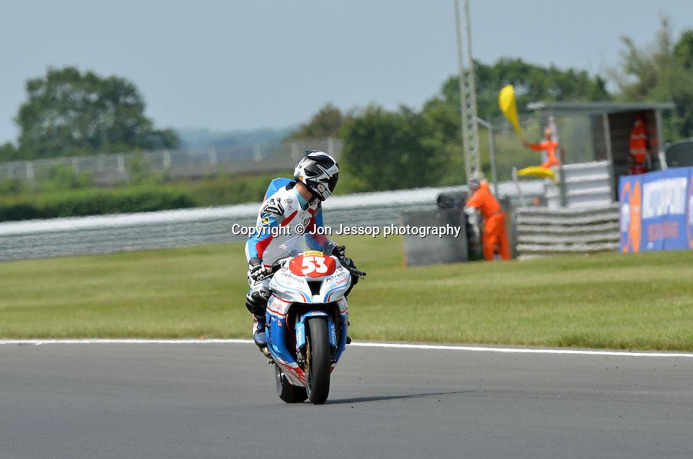 #53 Joe Burns JG Speedfit Kawasaki Racing Superstock 1000