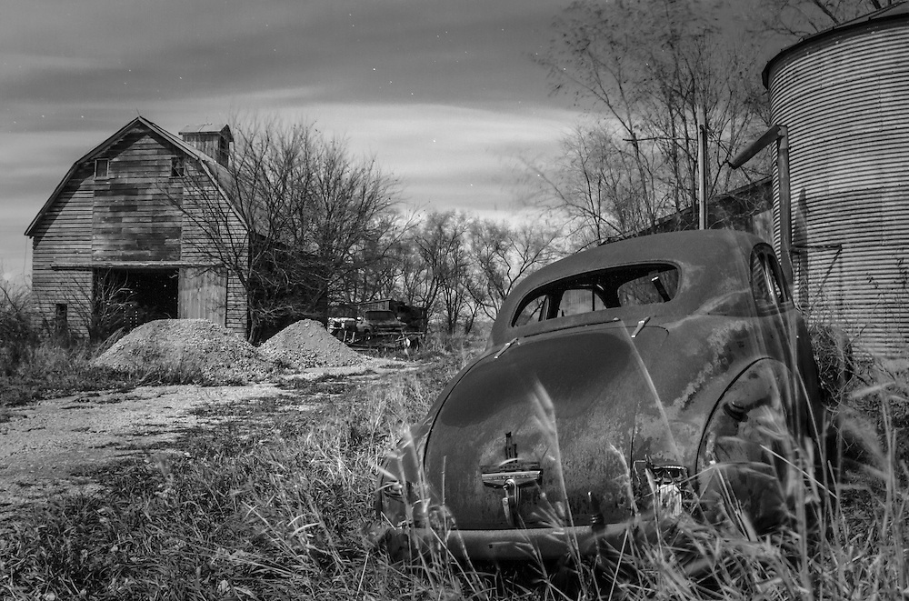 Lost To Time & Elements, Museum Without Walls Series, 1941 Chevrolet Special Deluxe 2 Door Coupe,