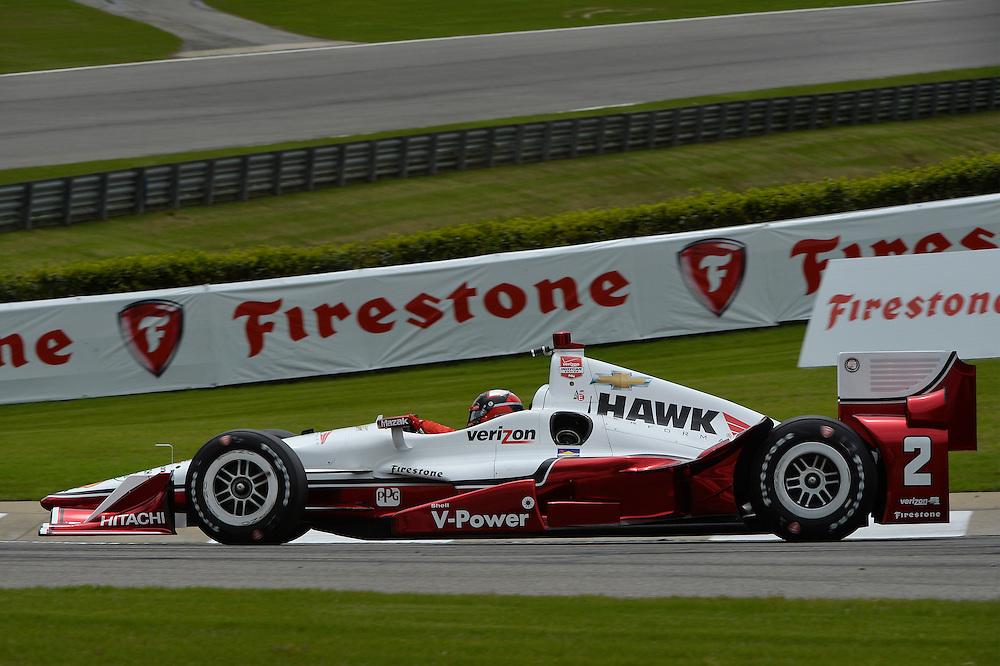 Juan Pablo Montoya, Birmingham, AL, USA - April 24-26, 2015;  Honda Indy Grand Prix of Alabama