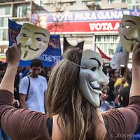 Marcha por la educación, Santiago de Chile Junio 2013.