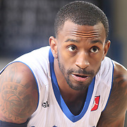 Delaware 87ers Guard RUSS SMITH (5) prepares to shoot free-throws in the second half of a NBA D-league regular season basketball game between the Delaware 87ers and the Maine Red Claws  Friday, Feb. 05, 2016 at The Bob Carpenter Sports Convocation Center in Newark, DEL.