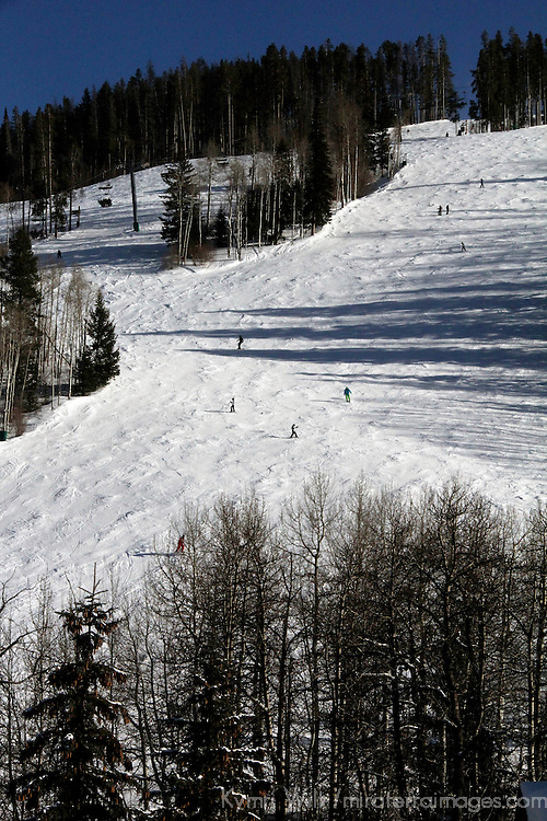 USA, Colorado, Beaver Creek. Slopes of the Beaver Creek Ski Resort.