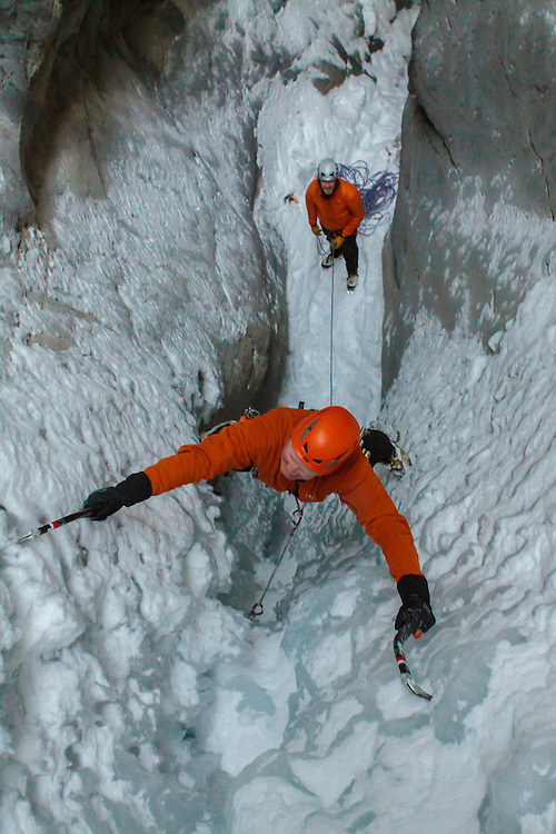 Ice Climbing End of the Line