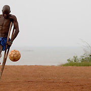 Ghana amputee football team<br />