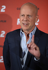 JULY 24 2013 Bruce Willis at R.E.D. 2 in Germany