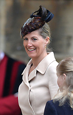 APR 20 2014 The Queen attends Church on Easter Sunday
