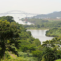 Built in 1962, Puente de las Americas (Bridge of the Americas) was the only road crossing point of the Panama Canal. The Bridge of the Americas (Spanish: Puente de las Ame?ricas; originally known as the Thatcher Ferry Bridge) is a road bridge in Panama, which spans the Pacific entrance to the Panama Canal. The bridge was designed by Sverdrup & Parcel..