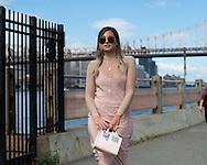 Danielle Bernstein at Yeezy Season 4