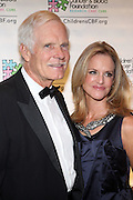 l to r: Ted Turner and Cynthia MacDonald at Children's Cancer & Blood Foundation Breakthrough Ball held at The Plaza Hotel on October 20, 2009..