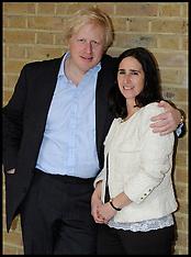 APR 2012 Boris Johnson and his wife Marina