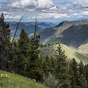 Joseph Canyon Viewpoint, Enterprise, Oregon, USA