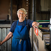 Pitmaster Tootsie Tomanetz of Snow's BBQ in Lexington, Texas, starts the fires every Saturday morning at three.