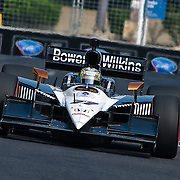 Dan Wheldon #77 coming out of turn number 8 at the inaugural Baltimore Grand Prix Sunday Sept. 4, 2011 in Baltimore Maryland.