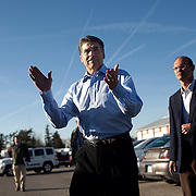 Gov. Rick Perry (R-TX) greets voters at the Sports Page restaurant Wednesday, December 28, 2011, in Indianola, IA...Photo by Khue Bui