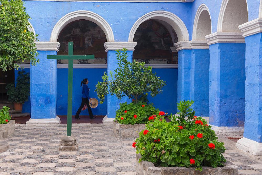 South America,Peru, Arequpa, Monasterio Santa Catalina,