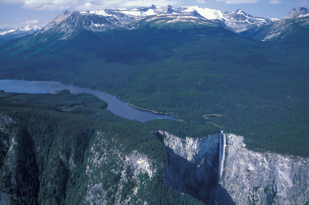 Hunlen Falls, Tweedsmuir Provincal Park, Chilcotin Country,British Columbia,Canada