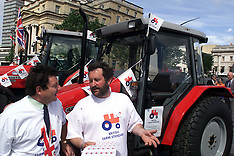 JUN 13 2000 Tony Blair British Tractor