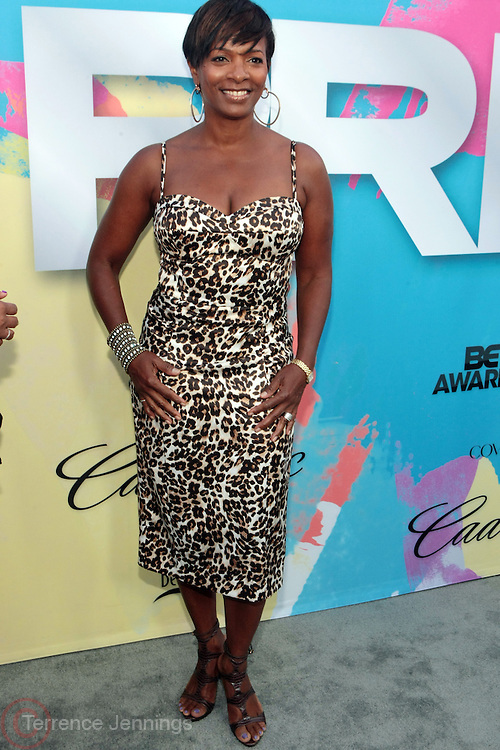 """Los Angeles, CA-June 29: Actress Vanessa Bell Calloway attends the Seventh Annual """" Pre """" Dinner celebrating BET Awards hosted by BET Network/CEO Debra L. Lee held at Miulk Studios on June 29, 2013 in Los Angeles, CA. © Terrence Jennings"""