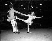 1955 - Ice Show Rehearsal at the National Stadium