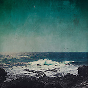 Rough sea on the Atlantic coast near Fuencaliente, La Palma, Canary Islands<br /> S6 Prints: https://society6.com/product/emerald-ocean_stretched-canvas#6=28<br /> <br /> http://www.redbubble.com/people/dyrkwyst/works/21840320-emerald-ocean
