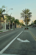 Rodeo Drive, Beverly Hills, Los Angeles, California, USA