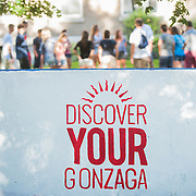 Orientation kicks off the school year for Gonzaga University.  (Photo by Rajah Bose)