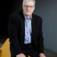 Portrait of Sir Ken Robinson, renowned educator, speaker and innovator. . Please contact me with your licensing request.