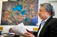 MADISON, WI — SEPTEMBER 15: Madison Mayor Paul Soglin works in his office inside the City County Building in downtown Madison, Tuesday, September 15, 2015.