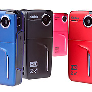 "Never miss a moment again. With tons of user-friendly performance features packed into a super-compact and weather-resistant body, this Kodak pocket high-definition camcorder lets you capture all the memories in stunning clarity--whenever and wherever they happen...Be spontaneous. Sometimes, the most memorable events are also unplanned. But, with this pocket camcorder, you're always ready to document the action. Truly pocket-sized, this camcorder is every bit as portable as your cell phone. But, unlike your cell's video-capture mode, this pocket camcorder shoots in glorious, ultra-realistic high definition. The low-distortion microphone adds crisp, clear audio, enabling you to hear the crack of the bat when your kid hits a homer or the shouts of ""Surprise!"" at your sister's baby shower. Plus, there are no complicated manual settings that you'll need to waste time figuring out: this is high-def recording with one quick touch of a button...Go anywhere. Thanks to the durable, weather-resistant design, this little HD camcorder goes places others simply can't. Since it shakes off splashes, dirt, and more, you can take the unit along to the beach, the pool--even out on the boat. Come rain or shine, in bright light or low light, this pocket-sized Kodak records vivid, true-to-life images...Shoot and share. This pocketable high-def camcorder comes with built-in software that allows you to easily edit and upload video to your favorite social networking Web sites. Or, watch an instant replay on the ample 2"" diagonal LCD screen via the one-touch playback. With the included HDMI cable, you can even view footage with family and friends on your HDTV.."