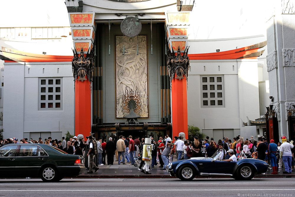 The Chinese Theatre on Hollywood Blv.