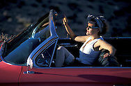1962 Pink Cadillac Convertible, Nevada, USA