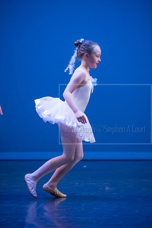 Wellington, NZ. 2.12.2014. Tuesday 6pm show. Ice Crystals, for the Wellington Dance & Performing Arts Academy end of year stage-show 2014. Photo credit: Stephen A'Court.  COPYRIGHT ©Stephen A'Court
