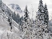Cascades I90 to US2: winter snow