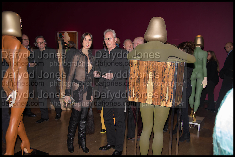 GABRIELLA DARIS, Allen Jones private view. Royal Academy,  London. 11 November  2014.