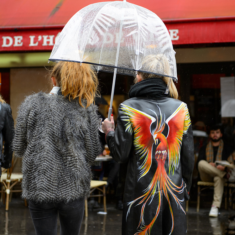 Rainy Day, Paris Fashion Week FW2017