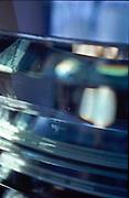 Niemiecka Soczewka latarni morskiej  w Helu na Polwyspie Helskim, 23-06-2005, fot: Piotr Gesicki..German nazi lens in Lighthouse in Hel town on Hel pennisula, on Baltic sea, Poland, 23-06-2005, photo: Piotr Gesicki. Hel pennisula on Baltic sea in Poland photo by Piotr Gesicki