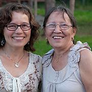 Kristine og Britt-Annie