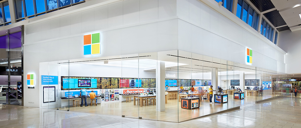 Microsoft Retail Store At The Westfield Garden State Plaza