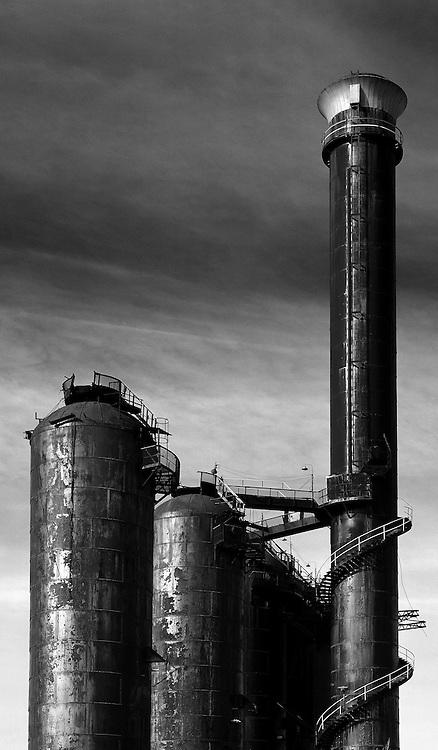 Historical views of CF&I Steel