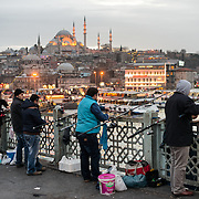 Galata Bridge / Istanbul, Turkey