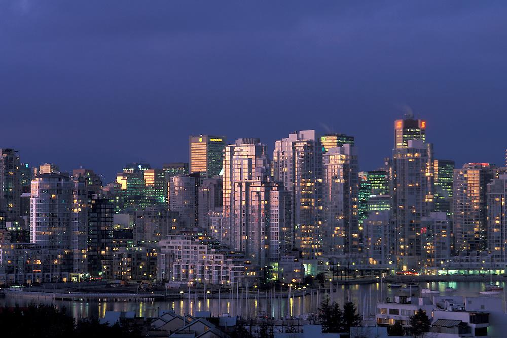 Skyline Vancouver, British Columbia, Canada